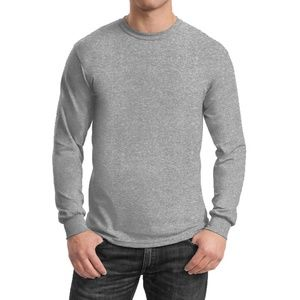 Semi-Fitted Long Sleeve Shirt